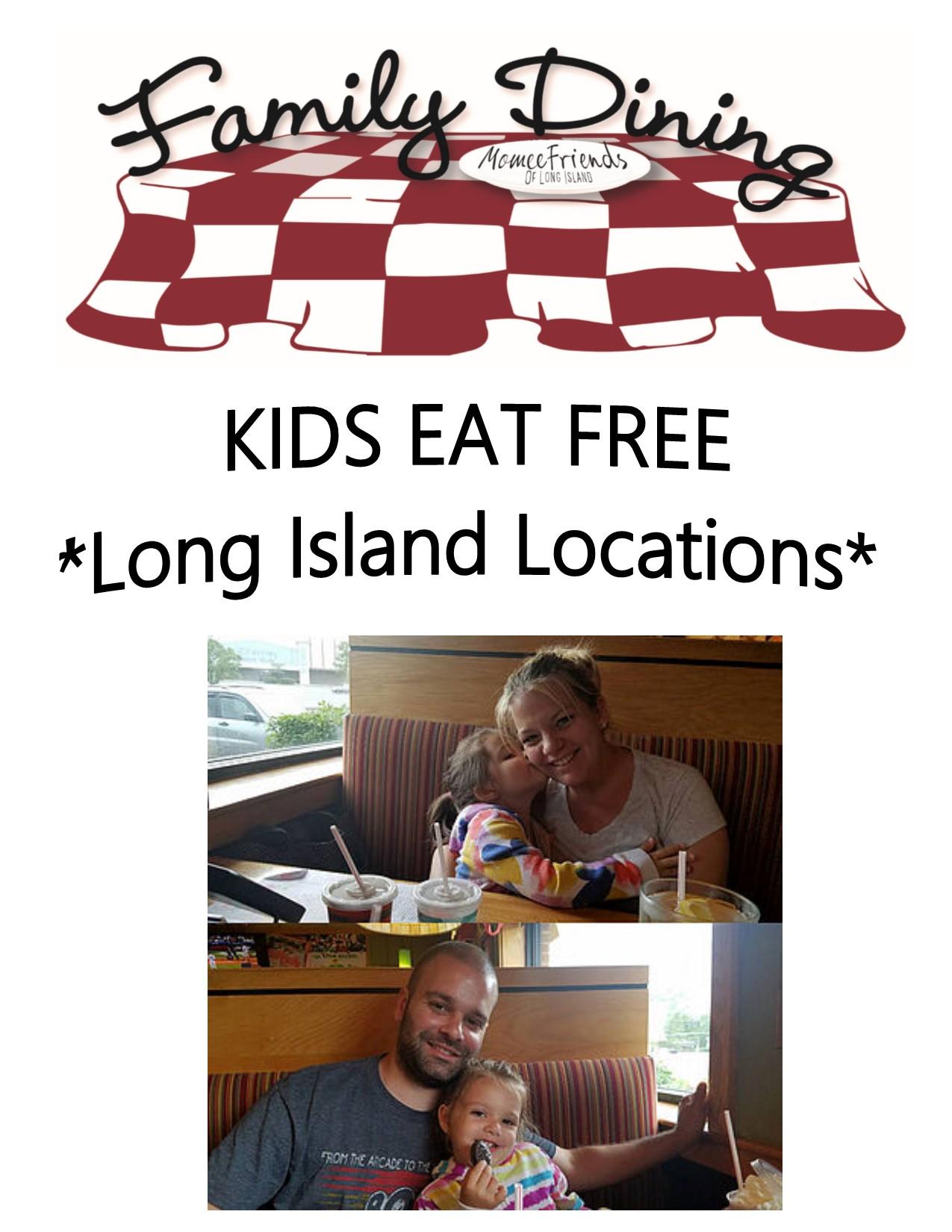 Kids Eat Free Long Island Locations
