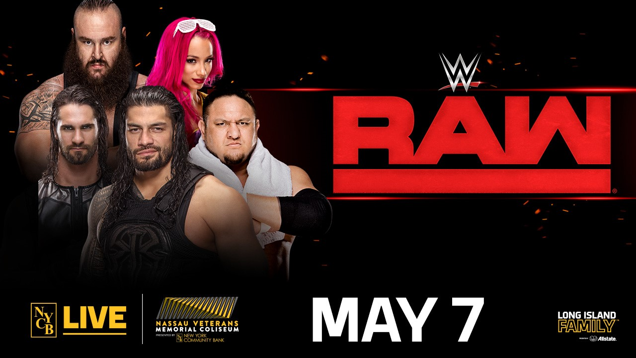 Monday night raw at nycb live may 7th - Monday night raw images ...