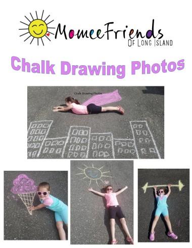 chalk drawing photos