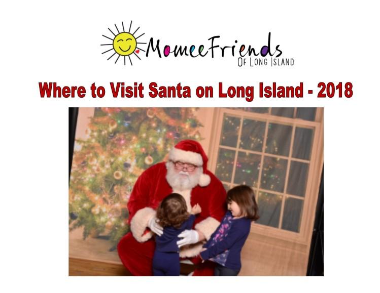 Milleridge Inn Christmas Village 2018.Where To Visit Santa On Long Island 2018