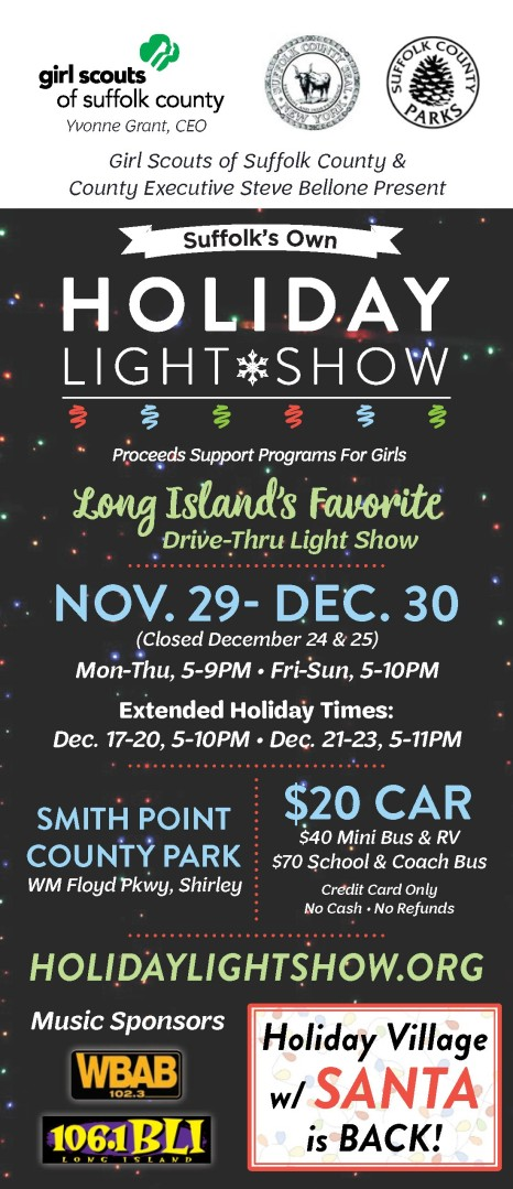 Holiday Light Show Email