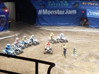 monster jam atv