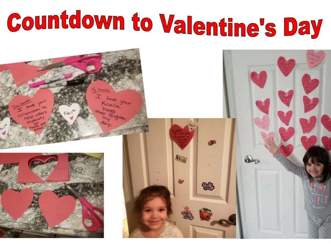 countdown to Valentne's Day