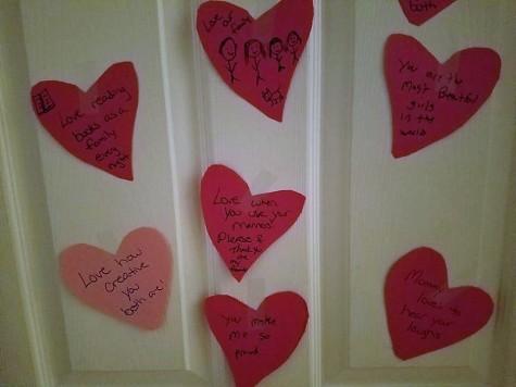 valentines day door hearts (2)
