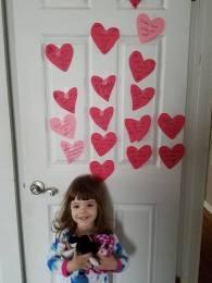 vday hearts on door 1