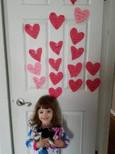vday hearts on door 1