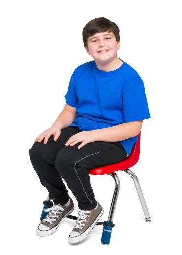 bouncy bands child sitting