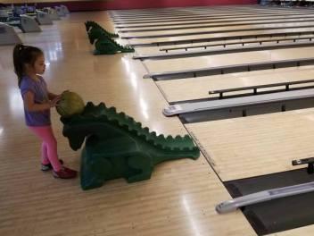 bowling ramp