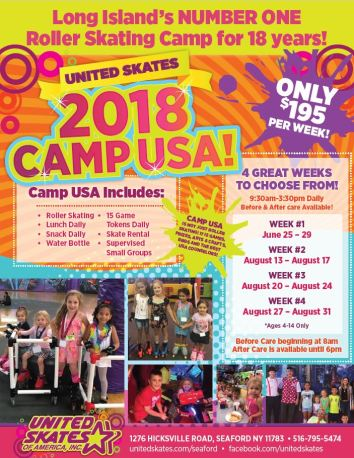 Camp USA Summer 2018