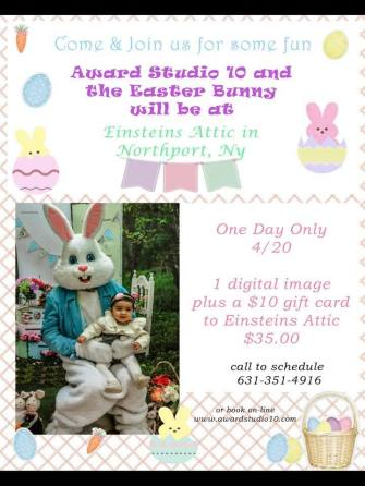 easter bunny einstein's attic