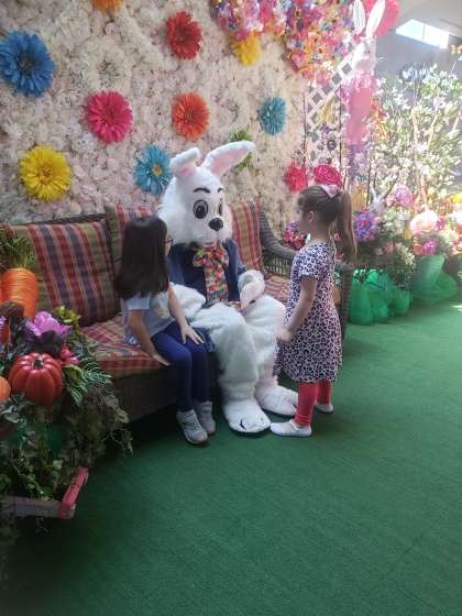 easter bunny girls