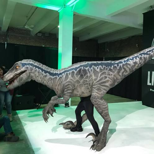 jurassic world live blue 2