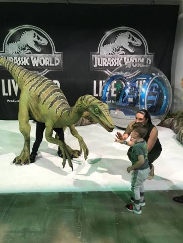 jurassic world live first look