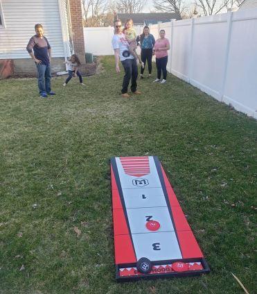 shuffle toss