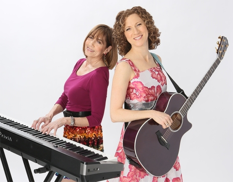 Laurie and Susie with instruments Web Res (cropped)