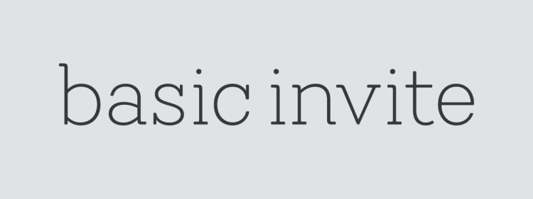 Basic Invite Logo 2019