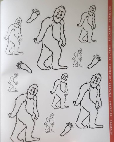 big foot activity book 2