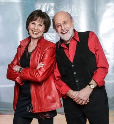 Sharon & Bram Red_photo credit Denise Grant