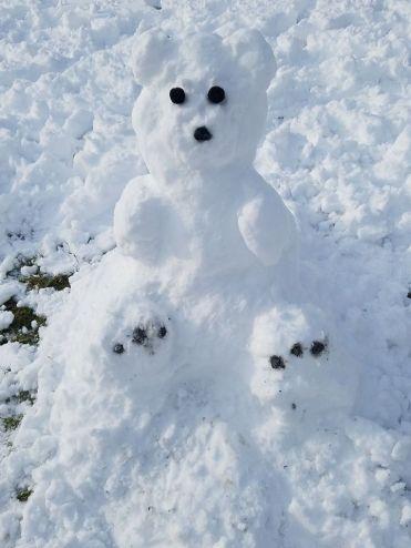 polar bear snowman 1