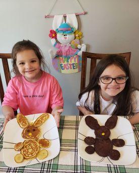 bunny pancakes 3
