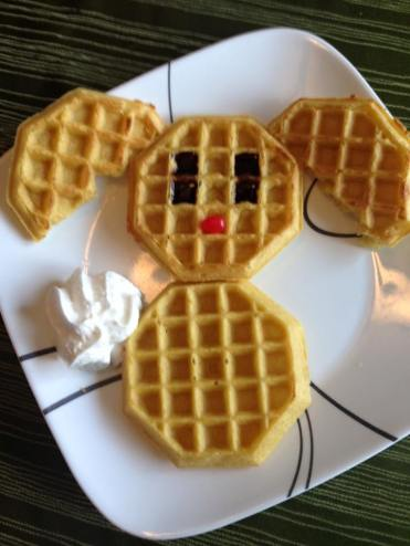 bunny waffles