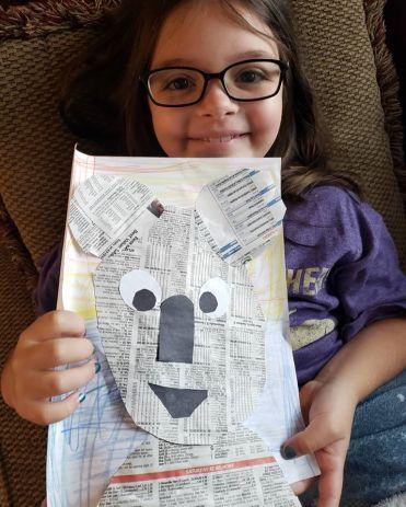 newspaper koala
